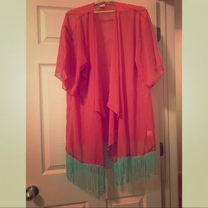 Lularoe Monroe Kimono **Discontinued**